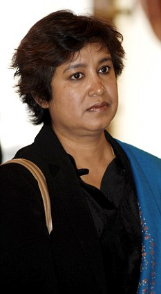 Attack: Writer Taslima Nasreen said doctors who carried out the procedure ...