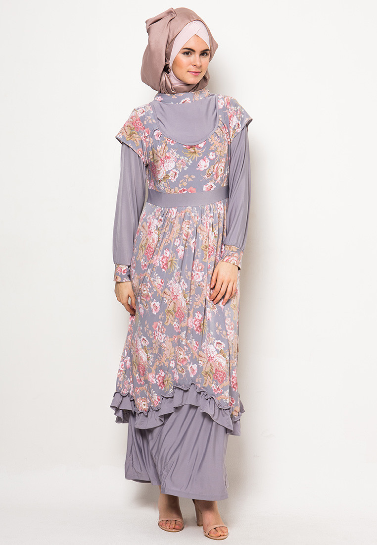 Trend Model Gamis Pesta Mewah Modern Muslim