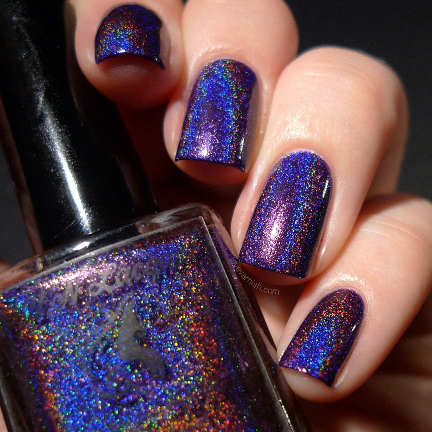 F.U.N Lacquer Summer 2014 Evening Gown holographic