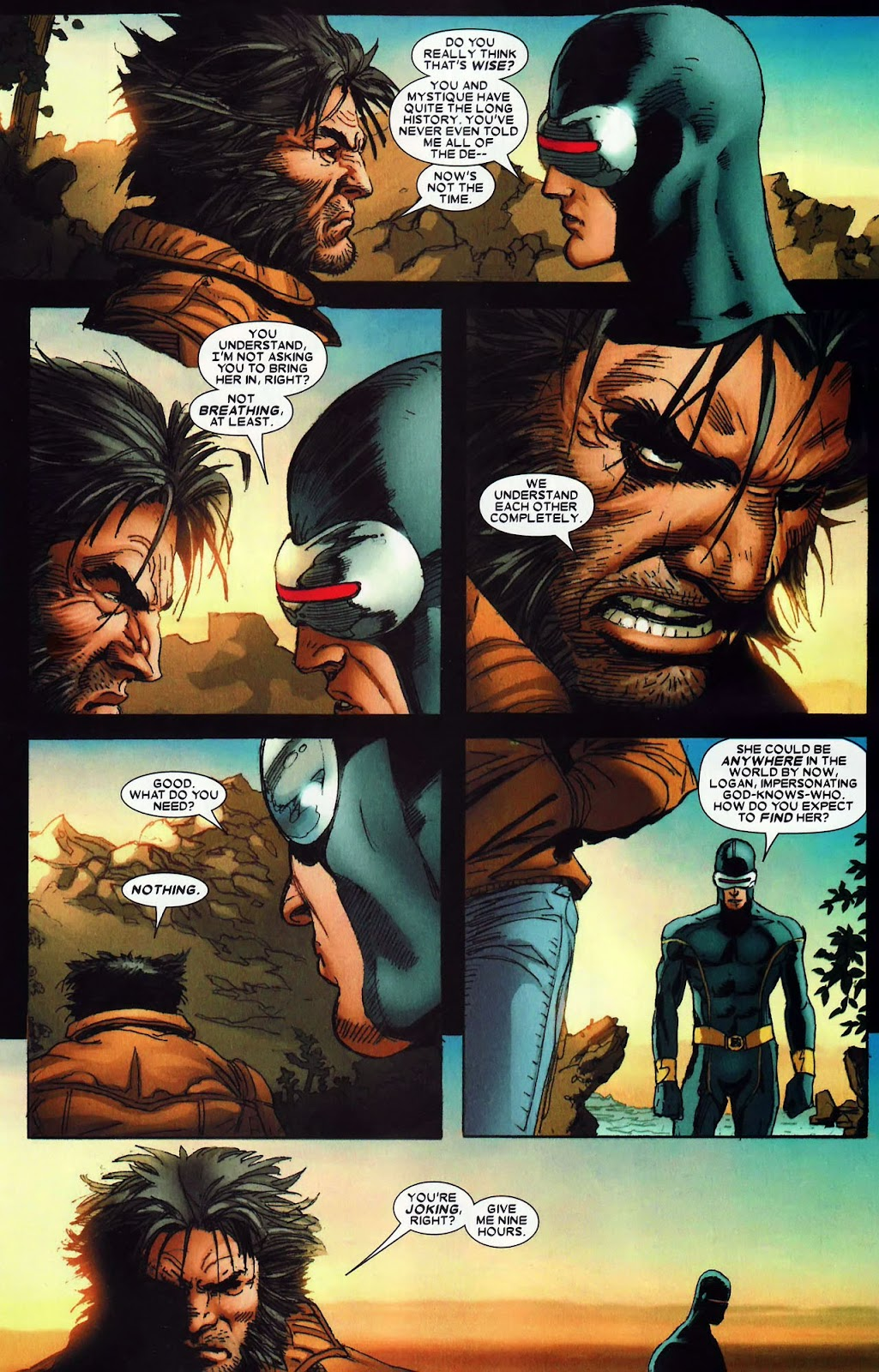 Read online Wolverine (2003) comic -  Issue #62 - 13