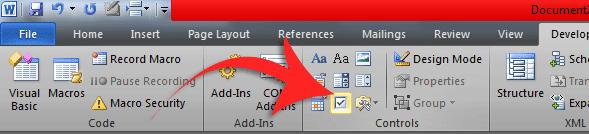 Cara Menambahkan Check Box Pada Dokumen Word