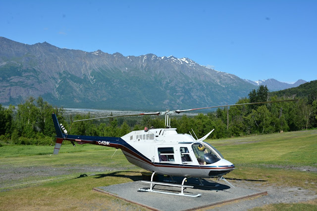 Knik River Lodge Palmer heli