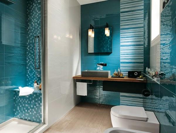 15 صور تصاميم حمامات عصرية   ديكورات حمامات كبيرة و ضيقة   الوان و نقوش حوائط حمامات مودرت
