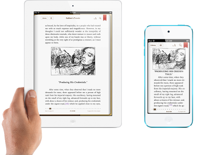 iCloud armazena e sincroniza livros