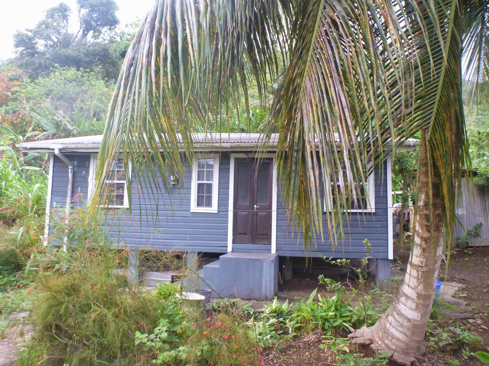 Local wooden home, Bellevue, Grenada