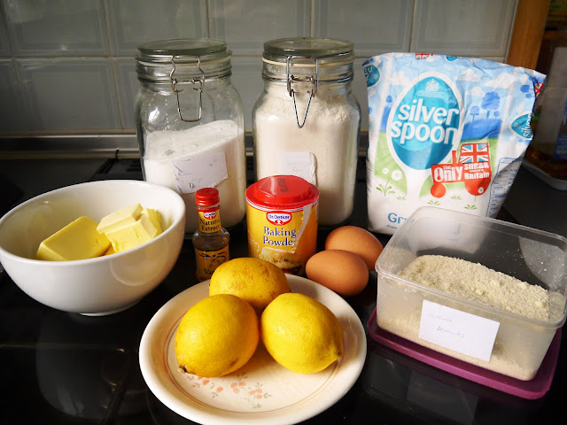 Ingredients for Little Lemon-tons