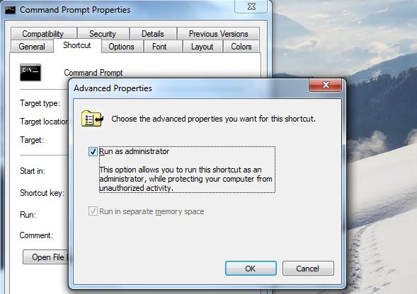 Cara Cepat Menjalankan Aplikasi Sebagai Adminstrator