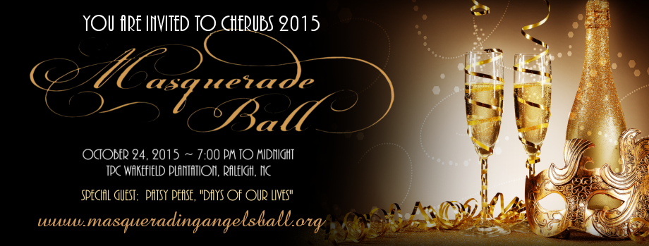 CHERUBS 2015 Masquerading Angels Ball -  Raleigh Halloween Charity Event