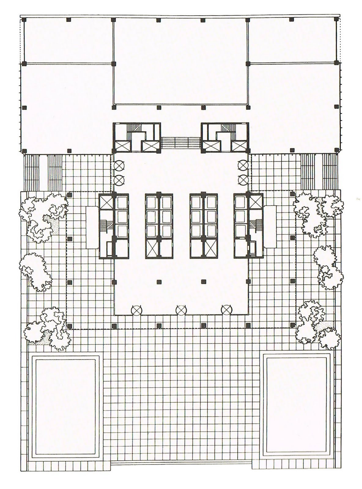 The creative path seagram building for New building design plan