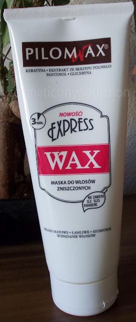 Pilomax EKSPRESS WAX maska do włosów zniszczonych