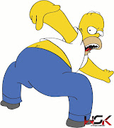 Homer Simpson vetorizadoIllustrator