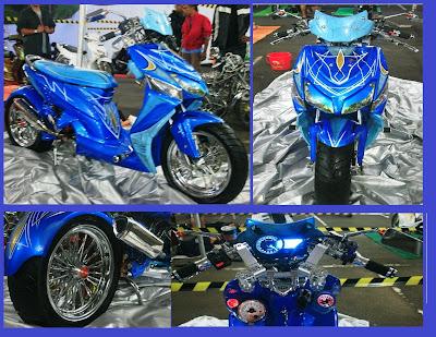 Honda Vario _ LowRider Trend Body Kostum 1 - Gambar Foto Modifikasi Motor Terbaru.jpg