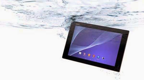 Tablet Sony Xperia Z2, Paling Tipis dan Tahan Air
