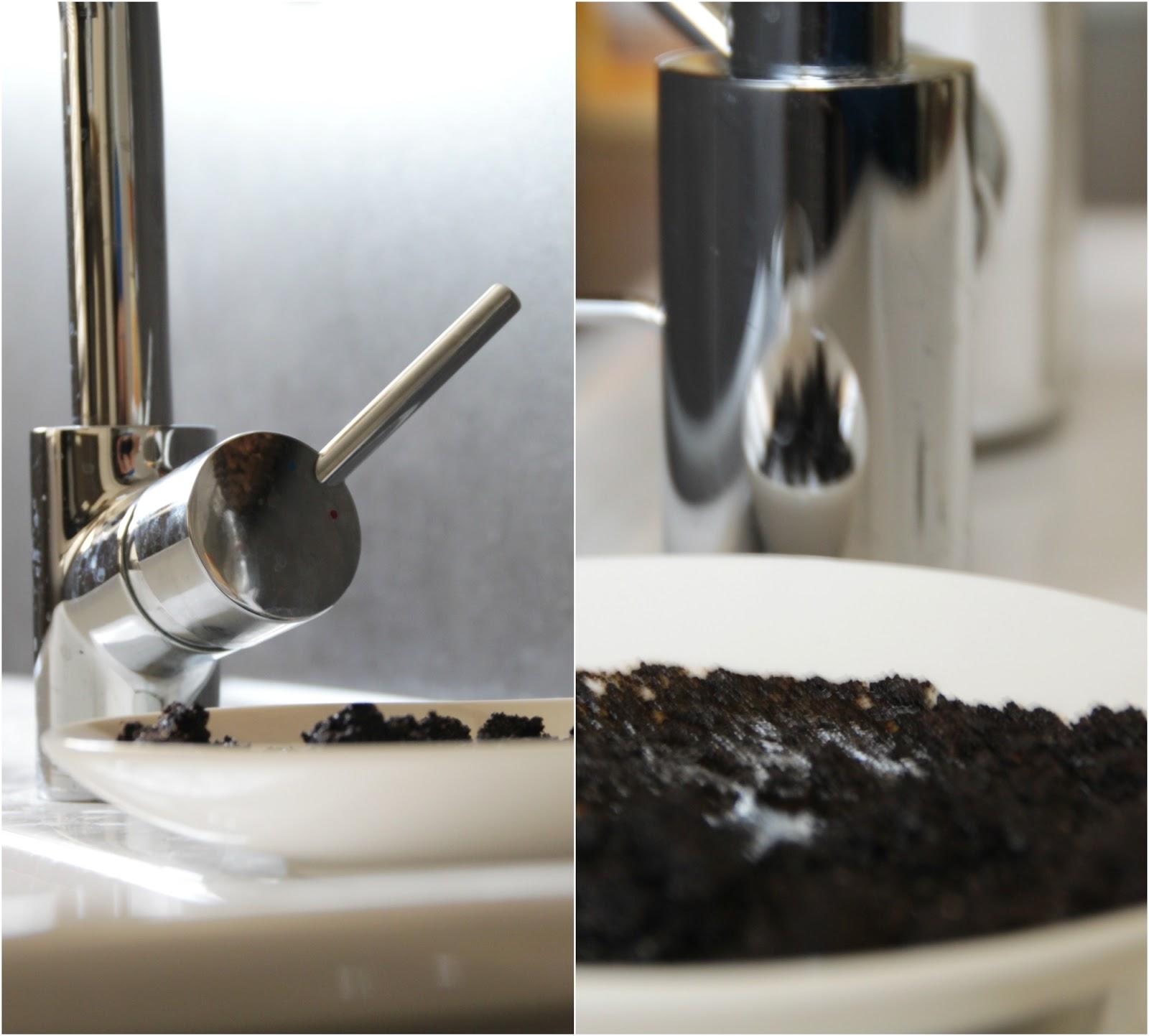 Das perfekte Kaffeepeeling - allein der Duft ist zum Niederknieen!