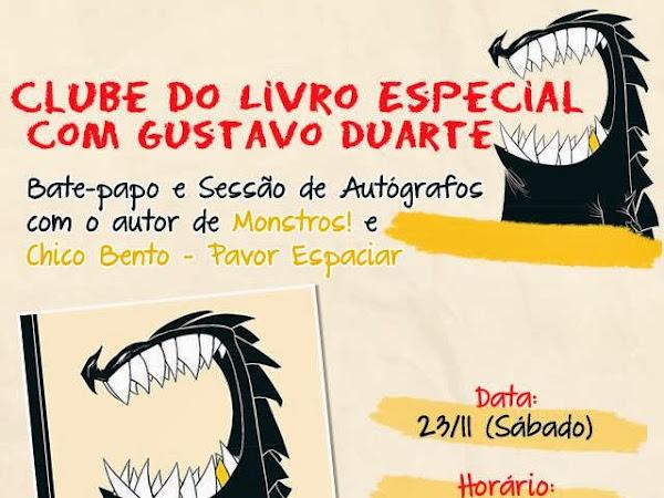 Clube do Livro Fortaleza com Gustavo Duarte