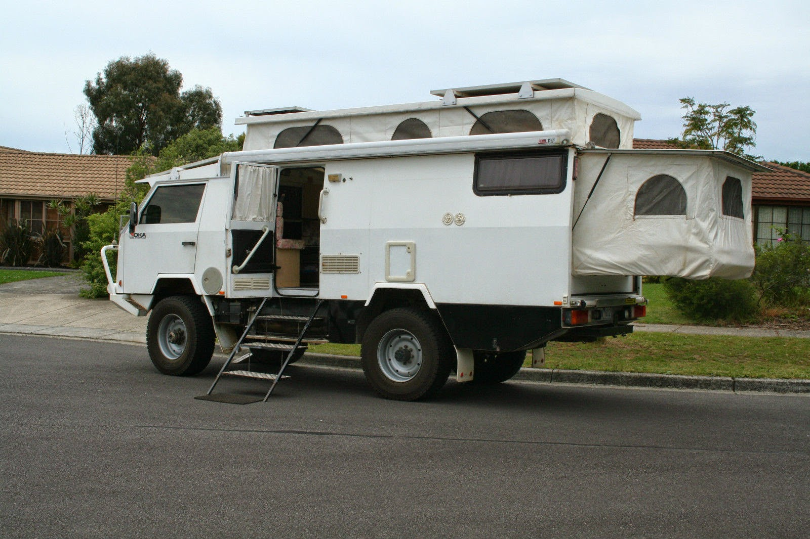 Used Rvs Oka 4x4 Off Road Travel Poptop For Sale By Owner