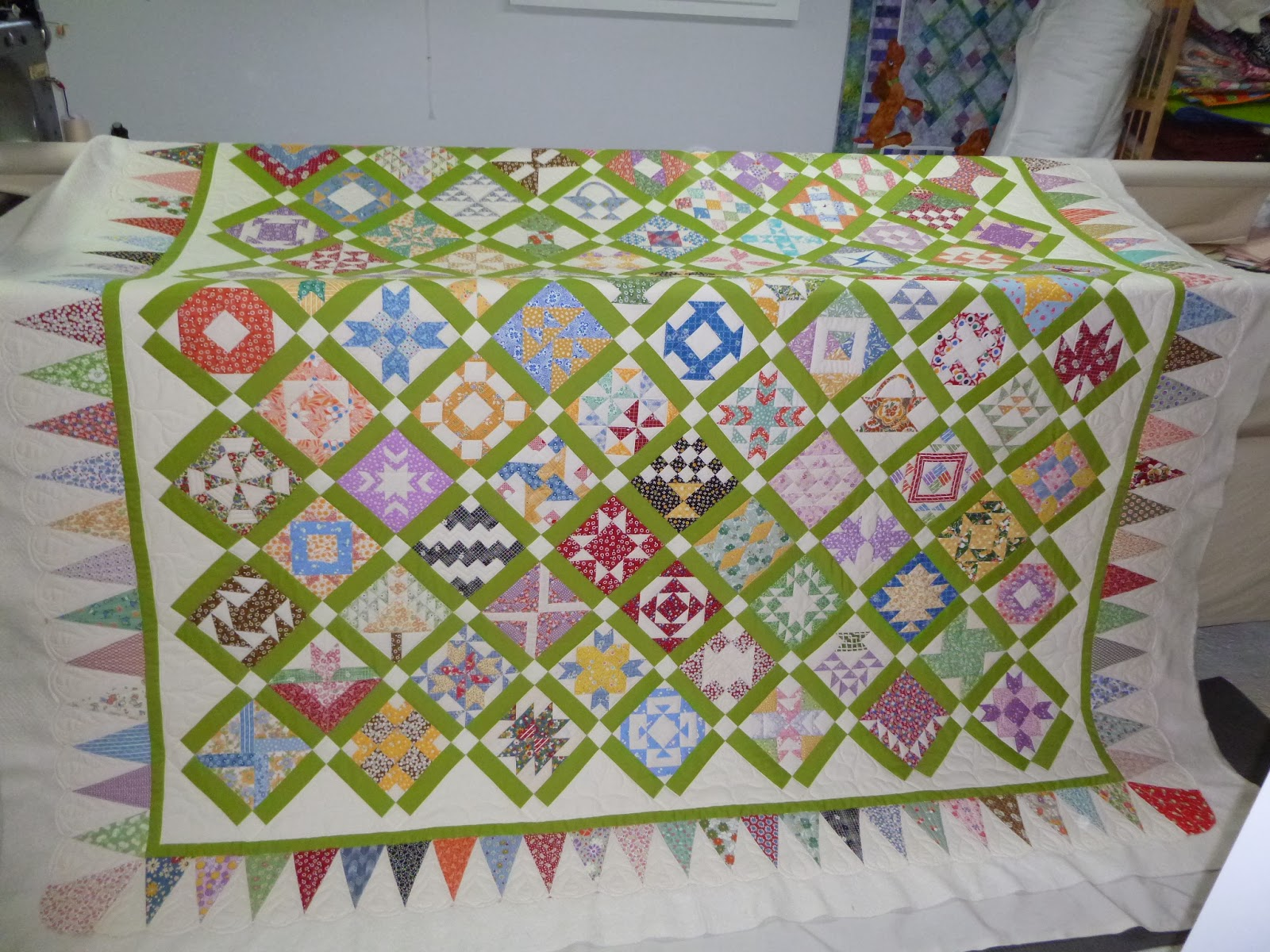 Linda's Quiltmania: Sonja's Farmer's Wife Quilt : the farmers wife quilt - Adamdwight.com