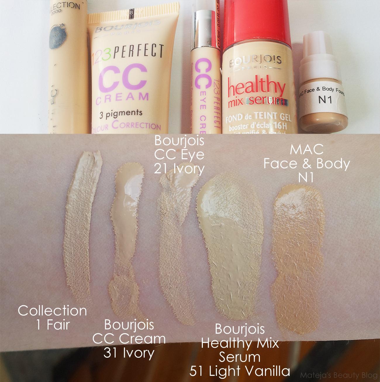 Bourjois 123 Perfect Cc Cream Mateja S Beauty Blog
