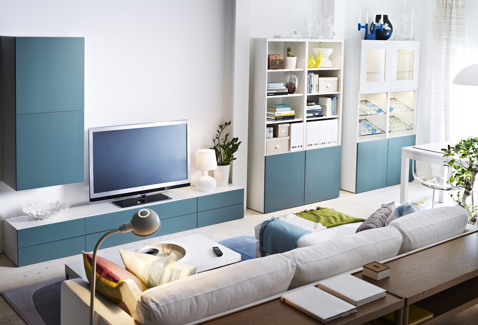 Idea untuk dekorasi ruang tamu ikea bahagian 4 ikea 2u - Salon nordico ikea ...