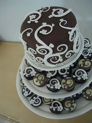 The art of making wedding cakes
