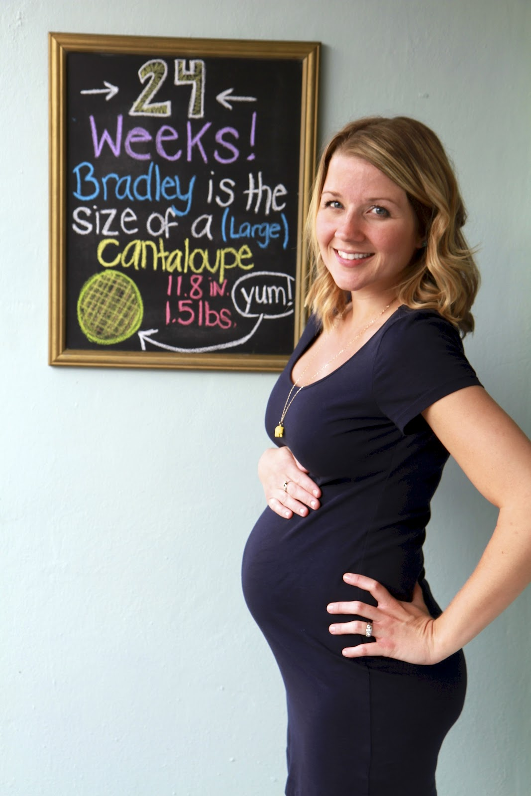 48 Weeks Pregnant Weeks pregnant?: 24 weeks 2 days. total weight gain ...