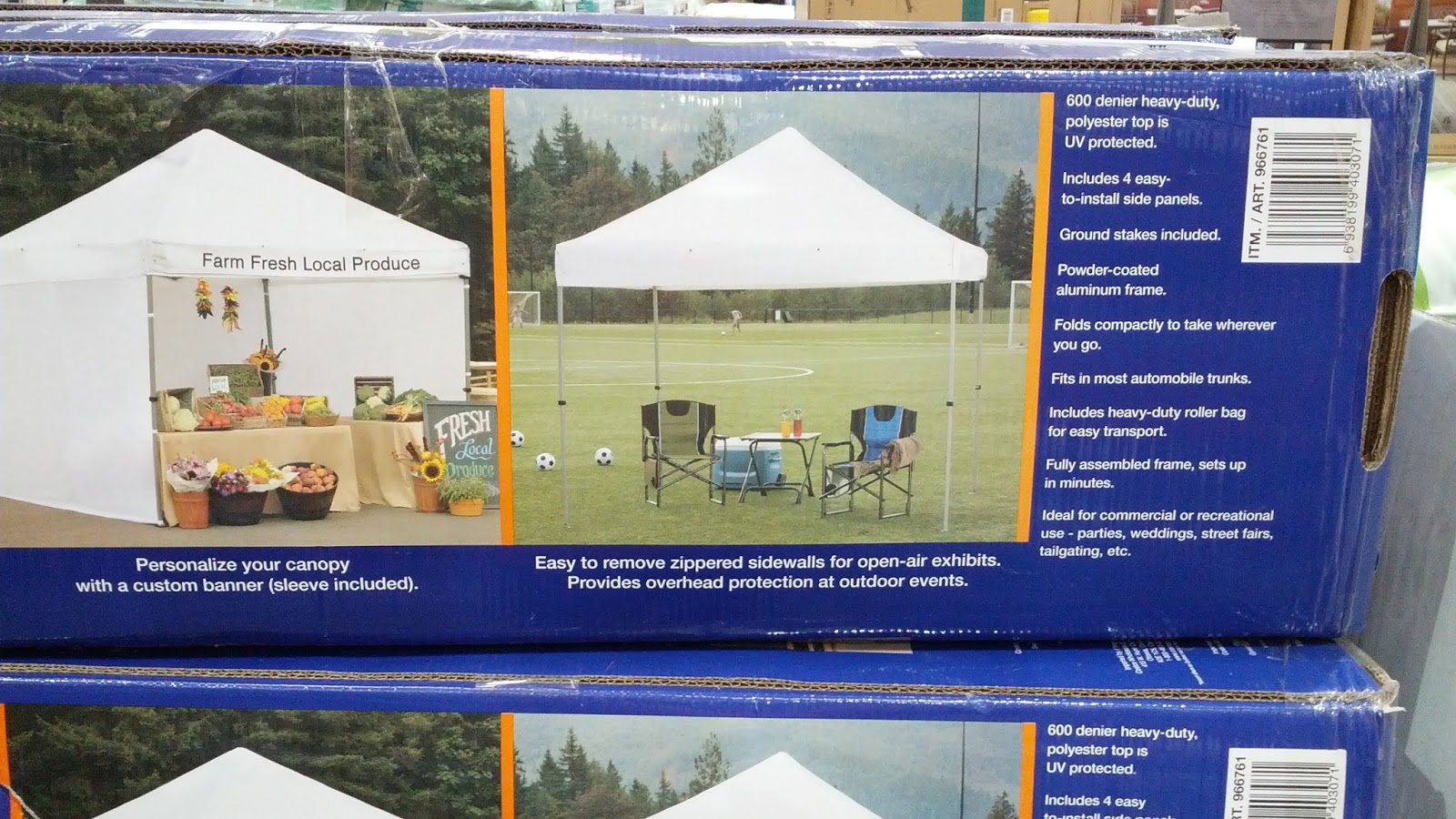 Instant Folding Canopy easy set up and pack up & Instant Folding Canopy (10u0027 x 10u0027) | Costco Weekender