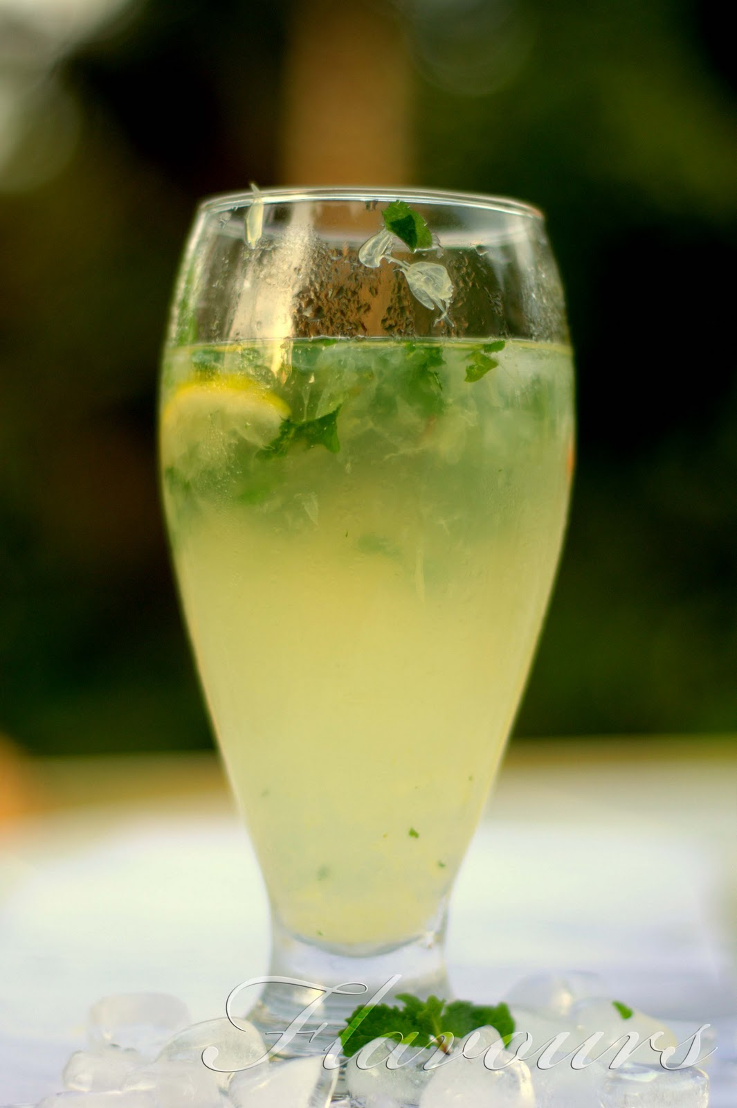 Virgin Mojito With Sweet Lime