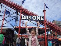 Blackpool Pleasure Beach The Big One