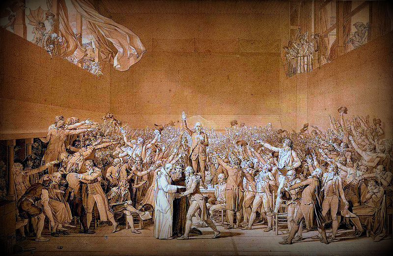 a review of jacques louis davids artpiece the tennis court oath The tennis court oath, june 1789 - jacques louis david as art print or hand  painted oil  new artwork made with love for you ready to decorate your house.
