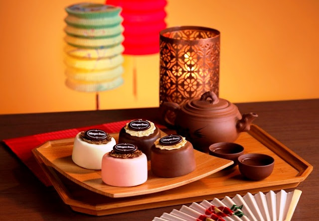 Haagen Dazs, Ice Cream Mooncake, classic gift