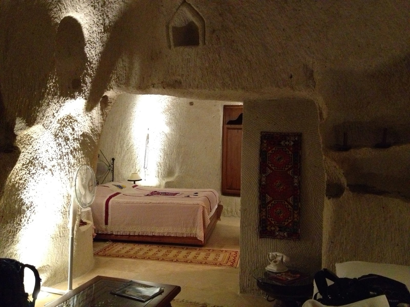 Cappadocia - Our cave sweet cave for 2 nights