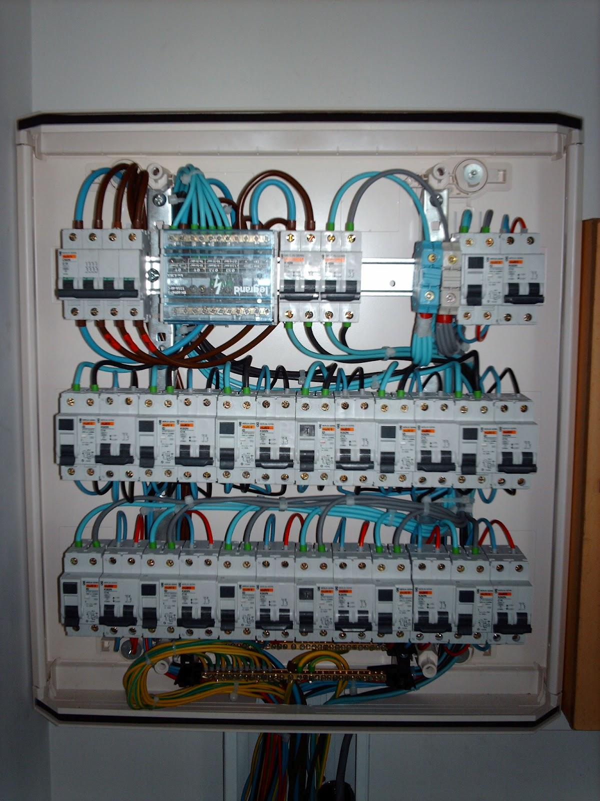 Gtv comunicaciones trabajos de cableado estructurado en for Cuadro electrico componentes