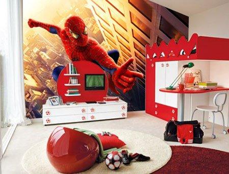 Decorativa vinilos para tu hogar como decorar cuartos for Cuartos decorados hombre arana