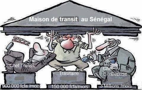 maison de transit au Sénégal
