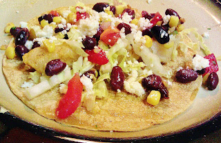 Grilled Fish Tacos with Black Bean and Corn Salsa
