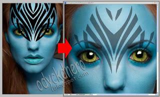 Info Unik Membuat Efek Avatar Dengan Photoshop