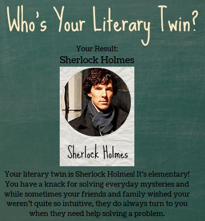 who's your literary twin quiz
