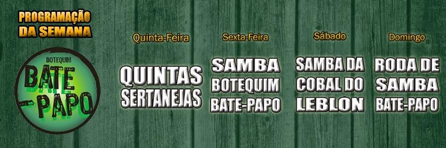 BOTEQUIM BATE PAPO - COBAL DO LEBLON