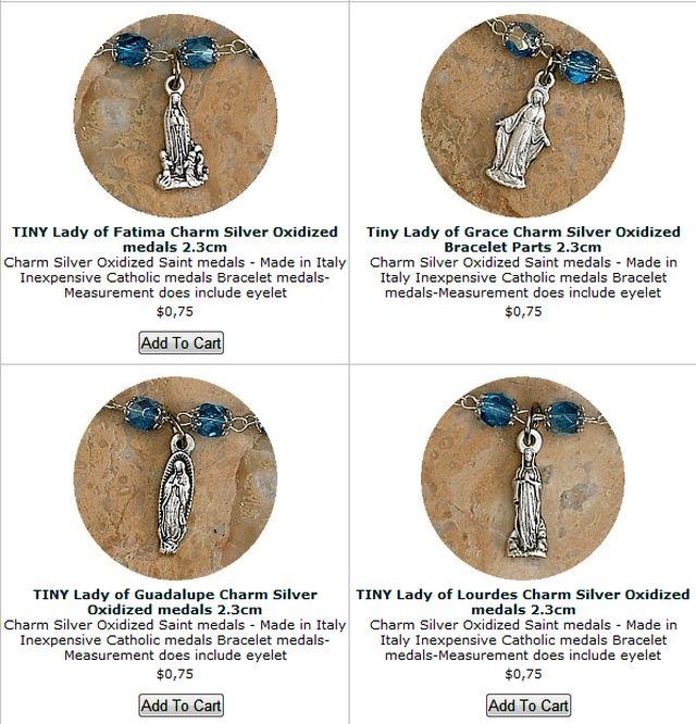 Saints Medals Bracelets