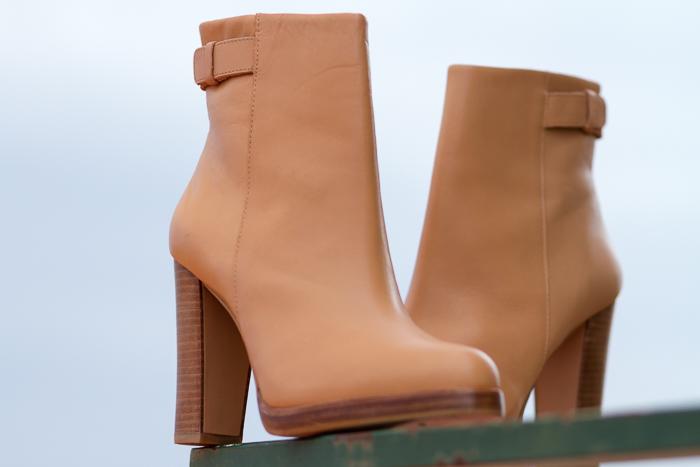 Botin de cuero color nude Selección compras chollos de rebajas Blogger moda tendencias Valencia withorwithoutshoes