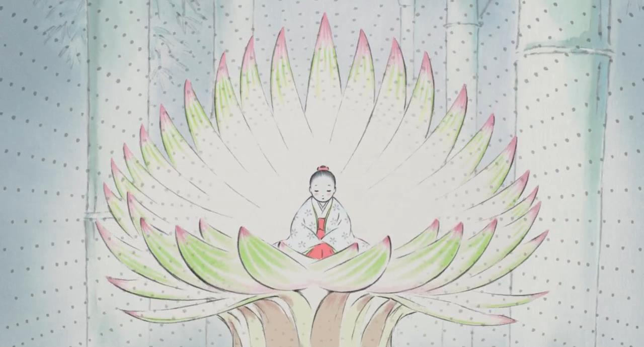 The Tale of Princess Kaguya [2013] BRrip 720p Latino-Japones