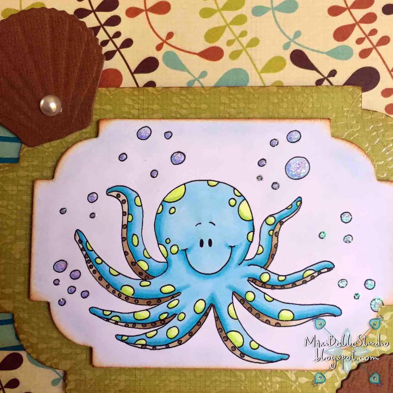 Gerda Steiner Designs Otto the Octopus