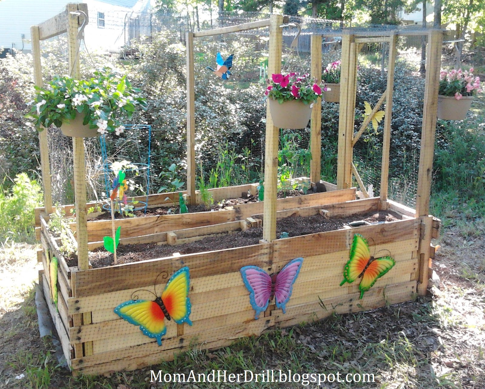 Kid size critter proof veggie garden reveal mom and her Kids garden ideas