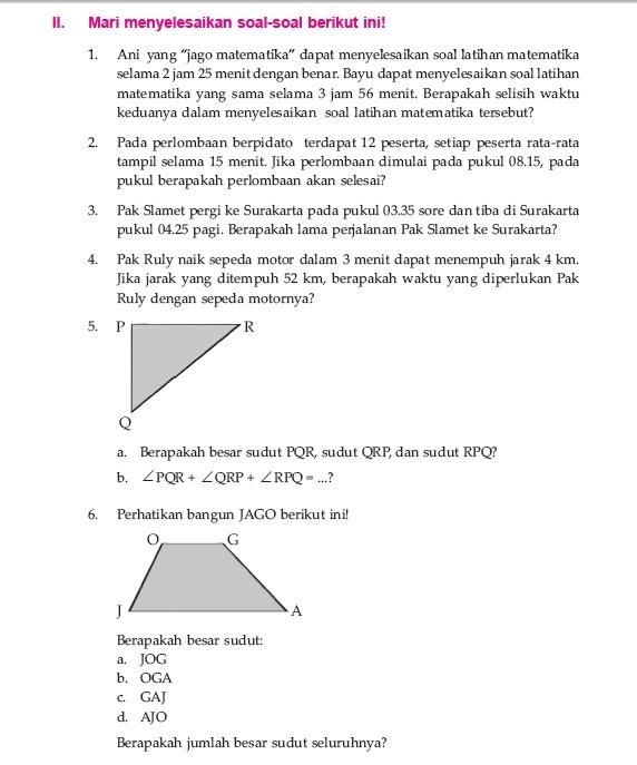 Seputar Ungaran Kota Soal Matematika Kelas 5 Sd Semester Genap No Urut 2