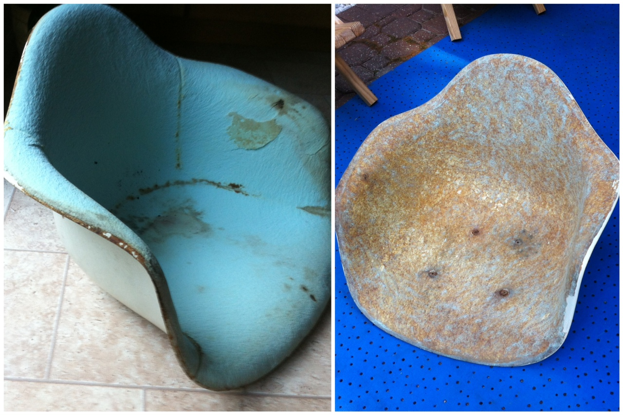 Yet Another Eames Shell Restoration