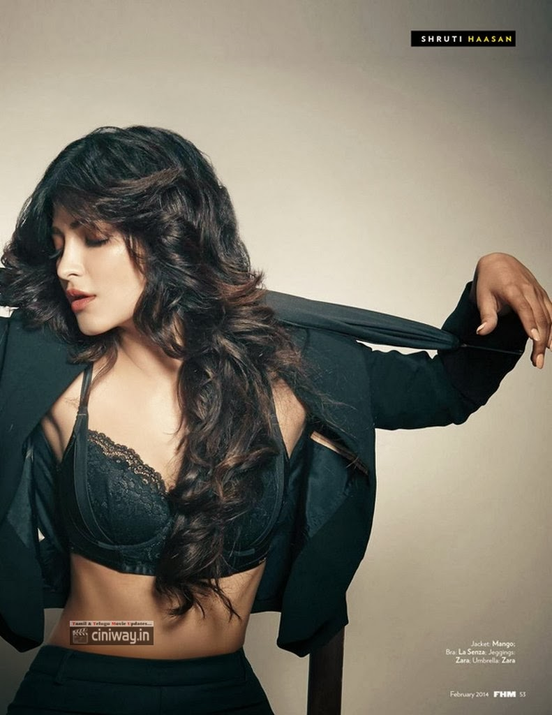 Shruti-Haasan-FHM-Photoshoot