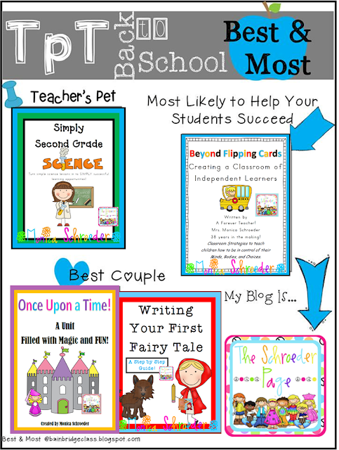TPT Back to School Best and Most, The Schroeder Page, photo
