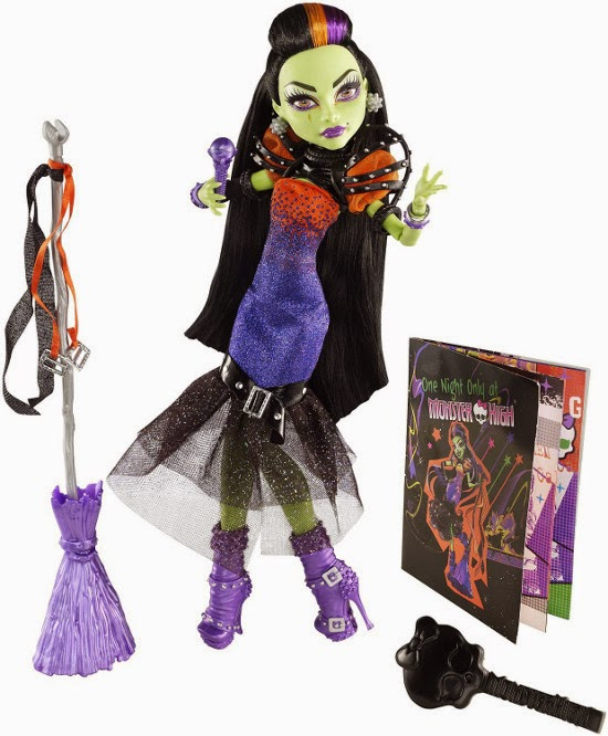 TOYS : JUGUETES - MONTSER HIGH Casta Fierce | Muñeca | Doll  Producto Oficial 2014 | Mattel CFV34 | A partir de 6 años