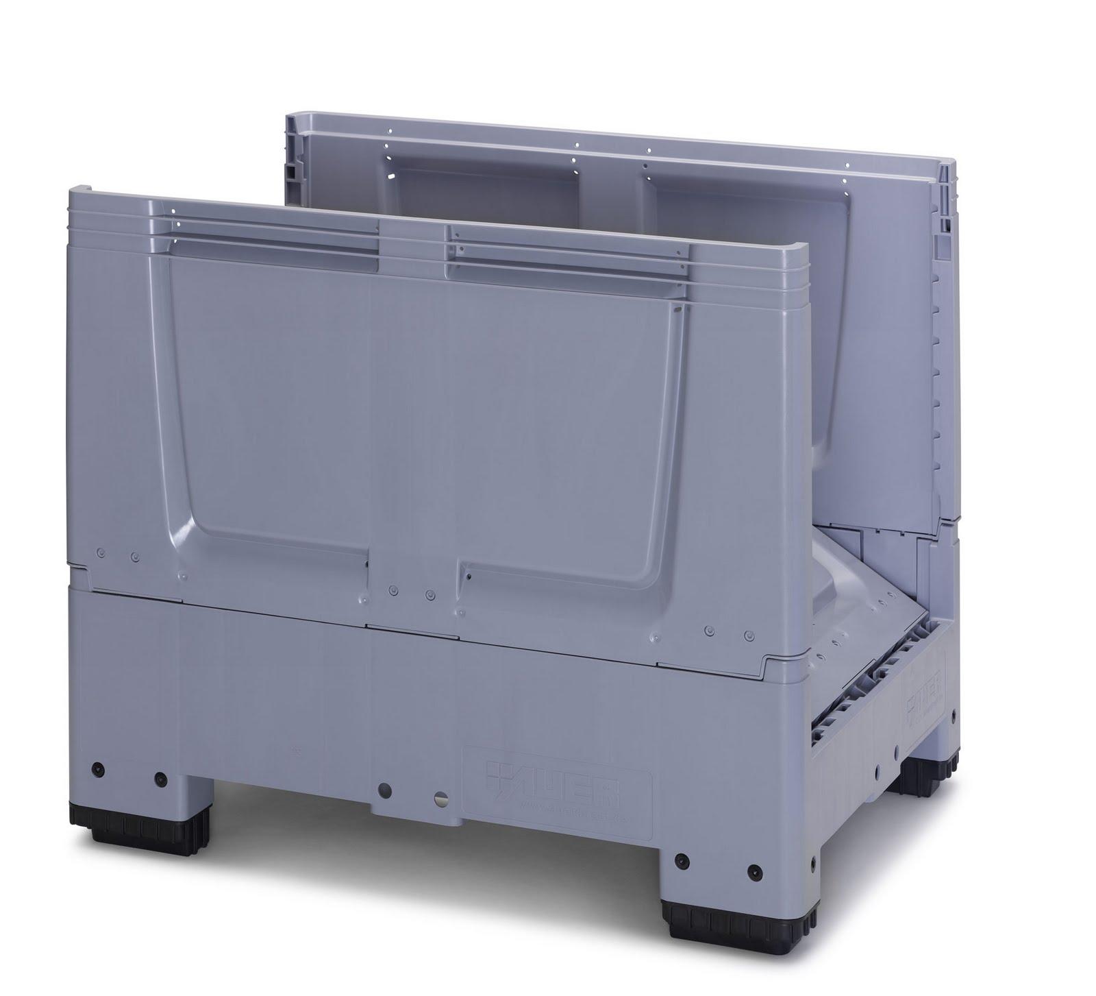 Inka palets barcelona 6 2 caja contenedor plegable - Pallets por contenedor ...