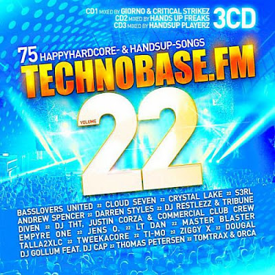 TechnoBase FM Vol.22 3CD 2018 Mp3 320 Kbps